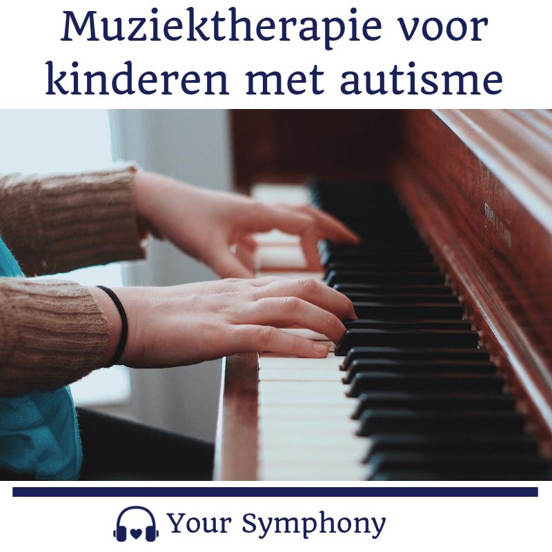 muziektherapie voor kinderen met autisme