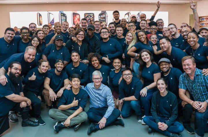 Apple workforce