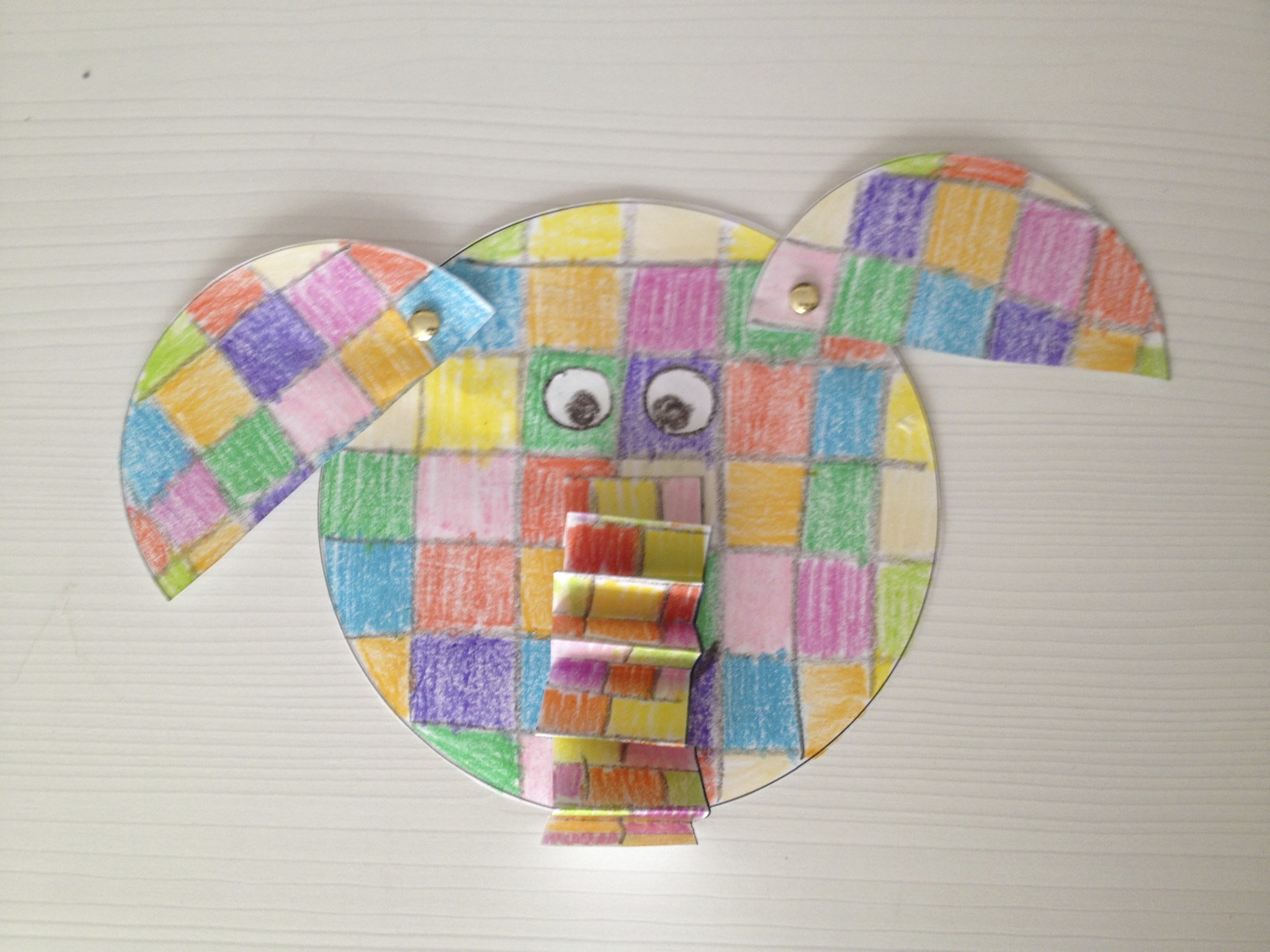 Another Elmer The Elephant Craft Idea Tales From