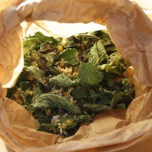 """Tisane """"la Digestive"""" bio yourte végétale montaimont saint françois longchamp savoie ferme agriculture"""