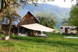 la yourte végétale montaimont saint-françois logchamp Maurienne Savoie