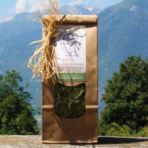tisane de feuilles de cassis soins naturopathie nature ferme bio yourte végétale saint françois longchamp savoie bien être