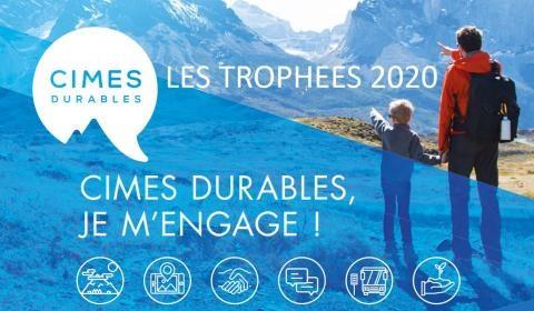 La Yourte Végétale lauréate 2020 des Trophées Cimes durables !!!