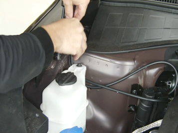 Kia Sorento Windshield Washer Heater Install
