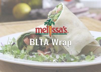 Melissa's Produce – BLTA Wrap