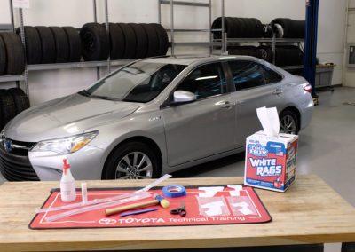 Toyota Door Edge Guard Installation