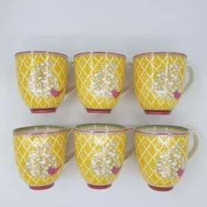 yeloow cup