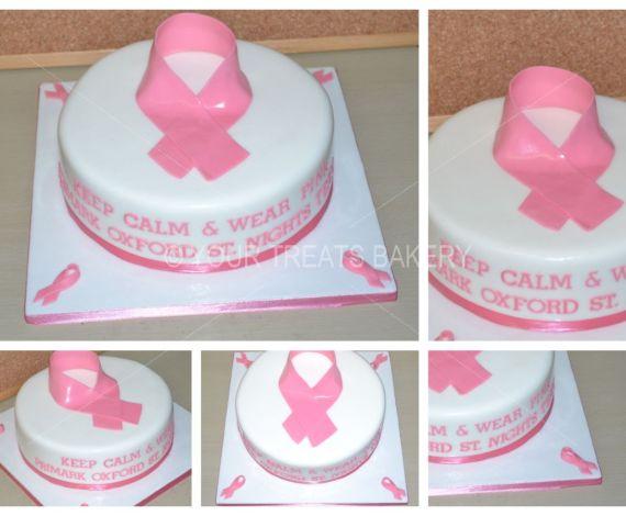Breast Awareness Cake