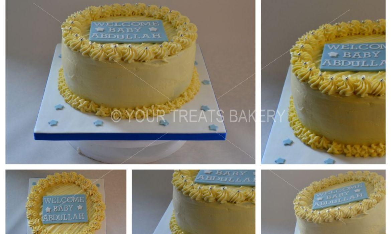 Buttercream Delight Yellow Cake
