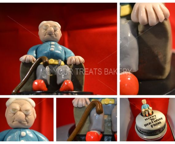 Grumpy Old Man Cake