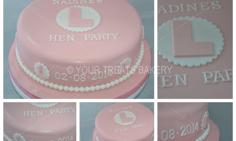Hen Doo Learner Cake