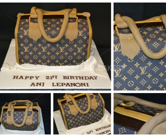 Louis Vuitton Bag Cake