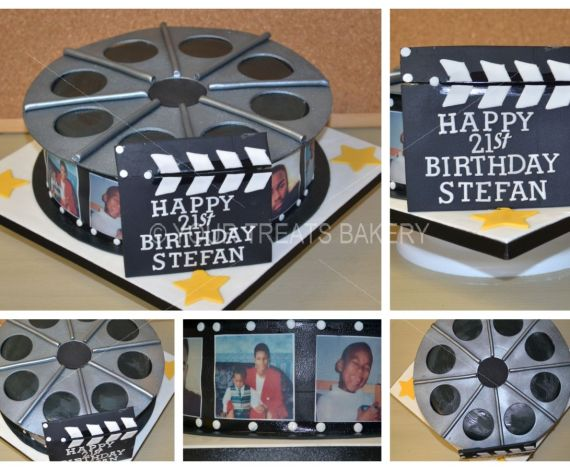 Movie Reel Cake