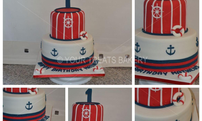 Nauticalness Cake