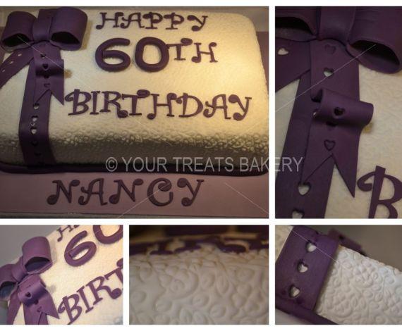 Pattern Bow Cake