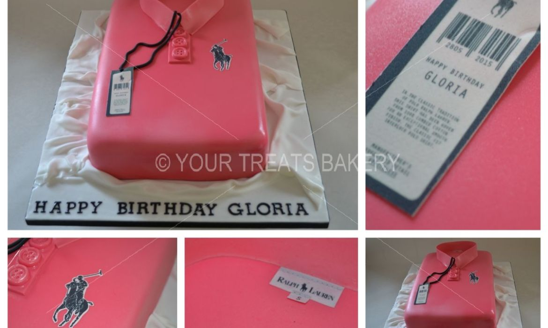 Ralph Lauren Polo Shirt Cake