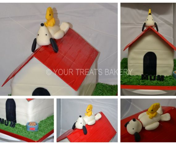 Snoopy Dog House Cake