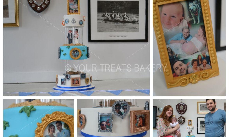 The Yates' History Cake