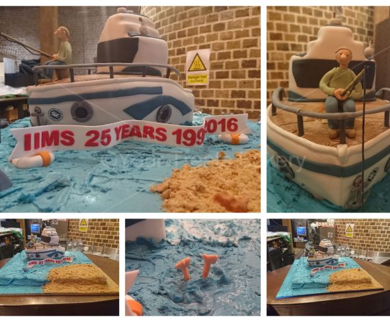IICM Boat Cake