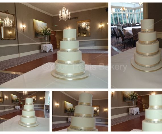 Suttle Glamour Wedding Cake