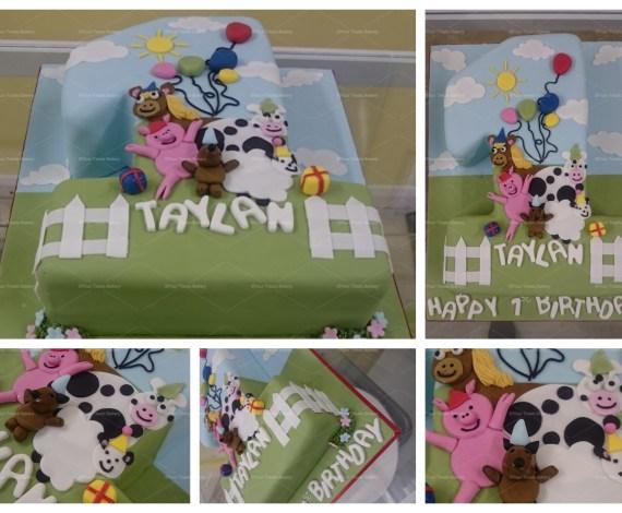 Number 1 Farm Cake