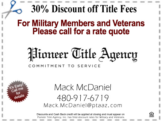 30% Discount Coupon for Veterans and Military Members