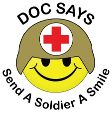 Send a Soldier a Smile Logo - Bill Salvatore, Realt Executives East Valley - 602-999-0952