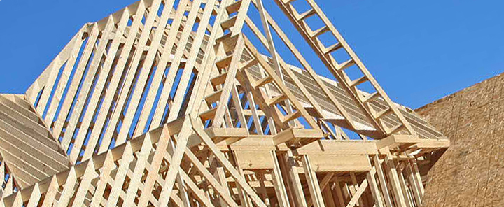 Roof Rafters of New Home - Discount on the purchase of New Construction - Bill Salvatore, Realty Executives East Valley - 602-999-0952