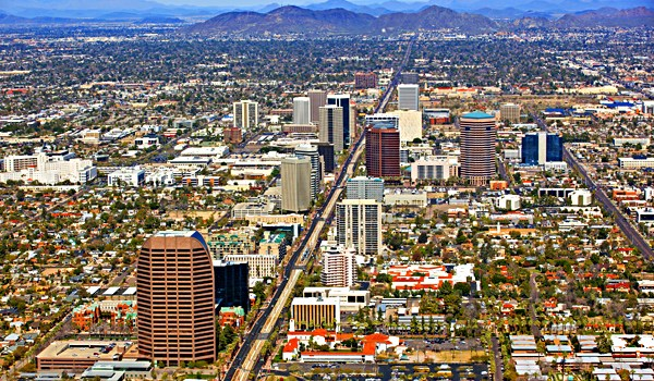 Arizona Cities, Phoenix Arizona, Skyline Of Midtown Phoenix - Bill salvatore, Realty Executives East Valley - 602-999-0952