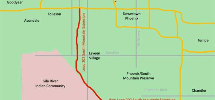 Loop 202 South Mountain Freeway Expansion Rendering - Bill Salvatore, Realty Executives East Valley - 602-999-0952