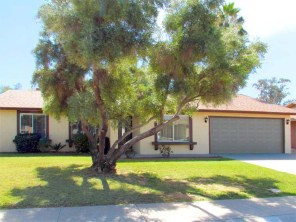Single story home with 2-car garage, grassy front yard and big shade tree - 783 W Park Ave, Chandler Arizona - single level home near 202, 101, 60, I-10 - Bill Salvatore, Arizona Elite Properties 602-999-0952 - Arizona Real Estate