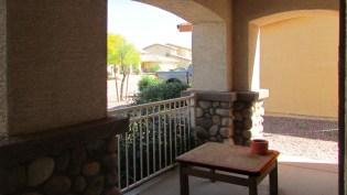Neighborhood view from level front walkway, front patio and entrance, no steps - 1795 W Gold Mine Way, Queen Creek, Arizona 85142 - Front patio - Bill Salvatore, Arizona Elite Properties 602-999-0952 - Arizona Real Estate