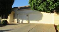 angle shot of front of home from garage side - 4 bedroom, 3 bath home with 3 car garage - 1162 S Sandstone St, Gilbert AZ - Bill Salvatore, Arizona Elite Properties 602-999-0952 - Arizona Real Estate