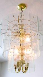 Lighted contemporary style chandelier - Lovely details - 1162 S Sandstone St, Gilbert AZ - Bill Salvatore, Arizona Elite Properties 602-999-0952 - Arizona Real Estate