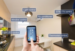 Remote home control system on a digital tablet or phone - Smart Home technology, Internet of Things, IoT, Smart home devices - Bill Salvatore, Arizona Elite Properties 602-999-0952 - Arizona Real Estate