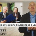 114 sample video style selected Accounting & Legal Services