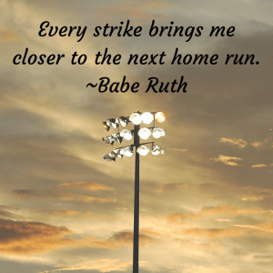 babe ruth social media graphic
