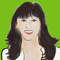 Illustration of Jen Sincero, Author of You Are a Badass at Making Money