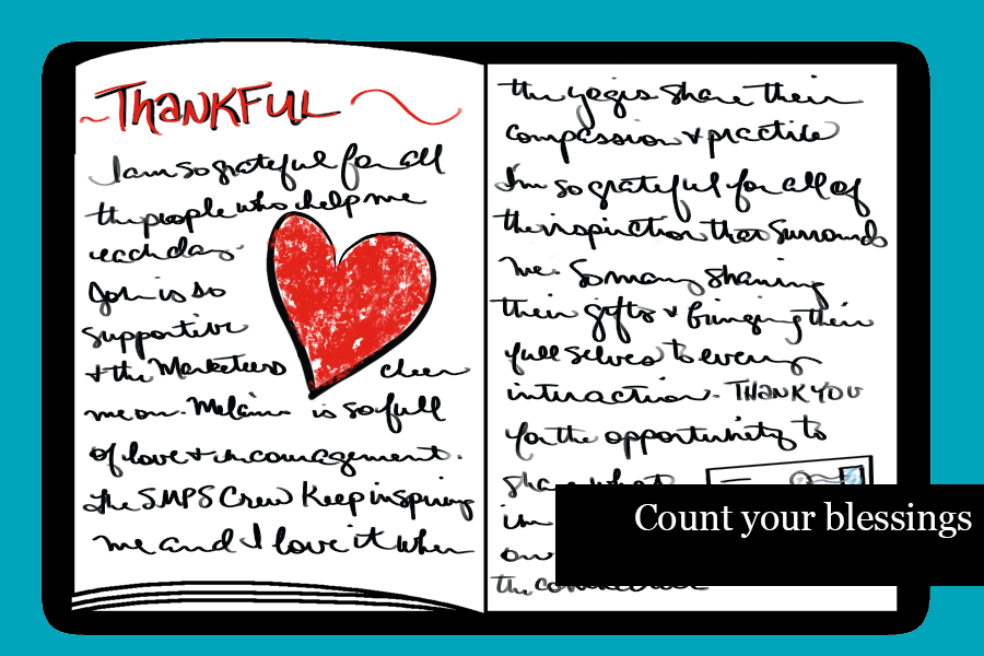How to Journal - Count Your Blessings
