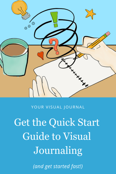 Get the quick start guide to visual journaling