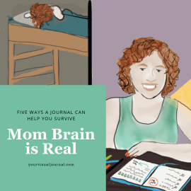 "We know what it's like to struggle with ""Mom Brain""  Share with anyone you know who is struggling! This is an encourager."