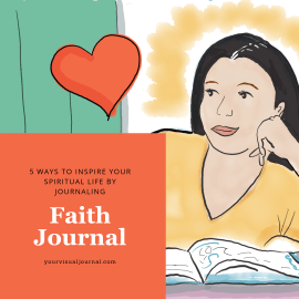When news updates, tabloid headlines, office gossip, or reality TV make you cynical, it helps to have a daily faith journal practice to reconnect you to what your heart knows to be true.
