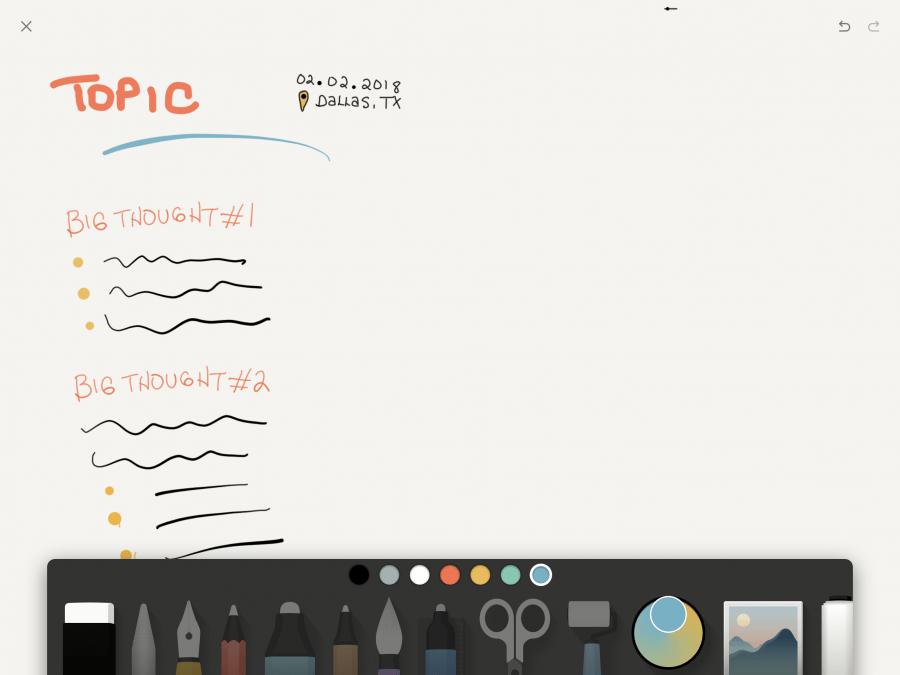 Paper Journal App by WeTransfer
