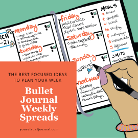 This post is full of inspiration on Bullet Journal Weekly Spreads. See what others have done, and get the know-how to design your own.