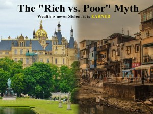 "The ""Rich vs Poor"" Myth: Wealth is never Stolen; it is EARNED"