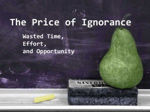 price-of-ignorance