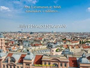 ang kayamanan ay hindi ninanakaw o nililimos ito'y pinagsisikapan yourwealthymind your wealthy mind