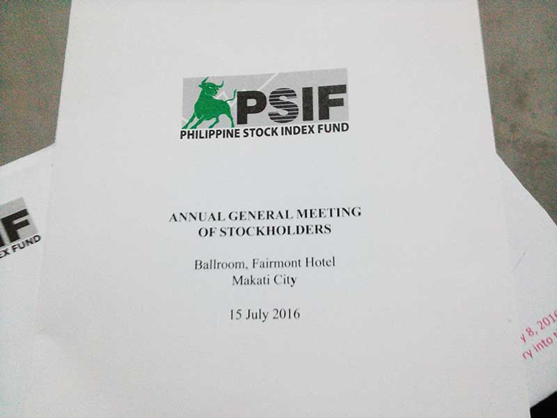 ALFM Stockholder Meeting 2016 Invitation