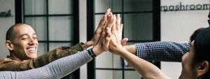 high five meeting