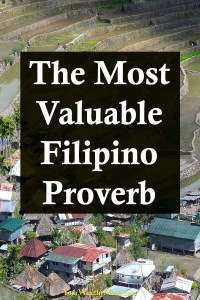 The Most Valuable Filipino Proverb Your Wealthy Mind